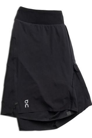 On Men's Lightweight Running Shorts Black