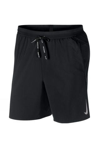 "Nike Mens Dri-FIT Flex Stride 7"" Running Shorts Black"