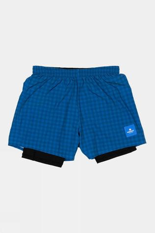 Saysky Unisex Checker 2 in 1 Shorts Blue Checkerboard