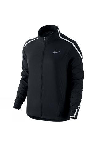 Nike Women's Impossibly Light Jacket BLACK/WHITE/REFLECTIVE SILVER