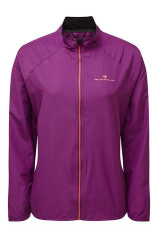 Ronhill Women's Everyday Jacket Grape Juice/Hot Coral