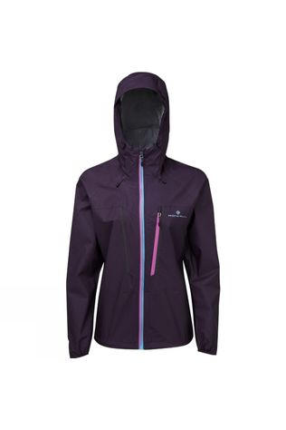 Ronhill Womens Infinity Fortify Jacket Blackberry/Aquamint