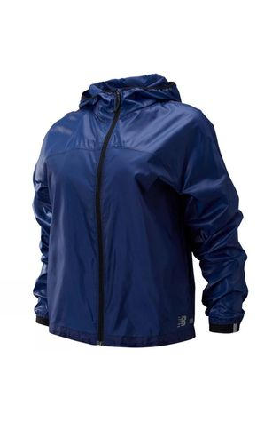 New Balance Women's Light Pack Jacket Techtonic Blue