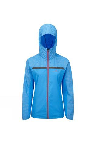 Ronhill Womens Momentum Afterlight Jacket Sky Blue/Cherryade