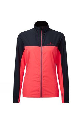 Ronhill Women's Stride Windspeed Jacket Hot Pink/Charcoal