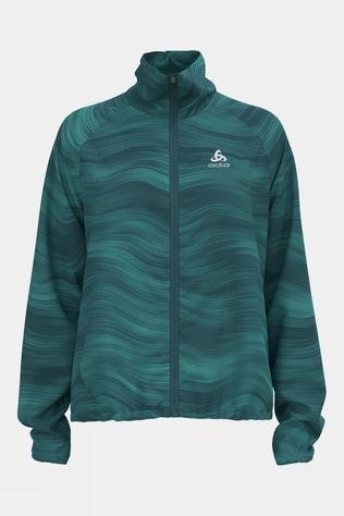 Odlo Womens Zeroweight Jacket Jaded Graphic