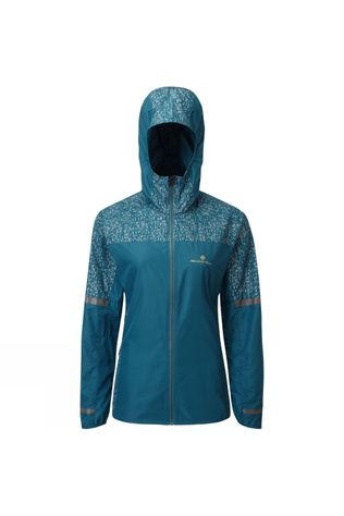 Ronhill Women's Life Night Runner Jacket Legion Blue/Reflect