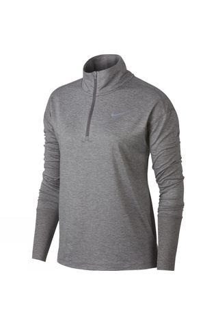 Nike  Women's Half Zip Top Gunsmoke/Atmosphere Grey