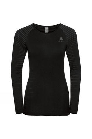 Odlo Womens Performance Light Bl Top Crew Neck L/S Black