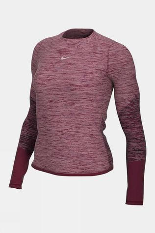 Nike Women's Runway Long Sleeve Top Dark Beetroot