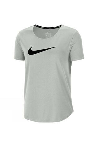 Nike Women's Swoosh Run Tee Grey Fog