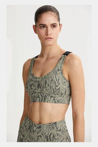 Varley Womens Edris Bra Distorted Grain