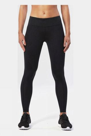 2XU Women's Mid-Rise Compression Tight Black/Zephyr Chrome