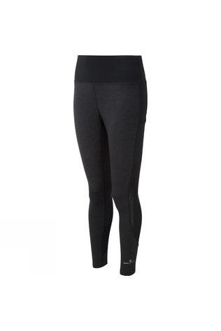 Ronhill Womens Momentum Agile Tights Charcoal Marl/Black