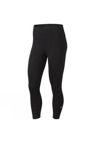 Nike Womens One Tight Crops Black