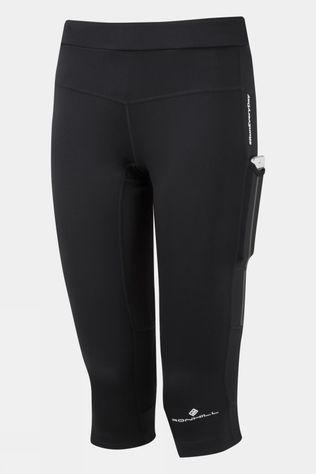 Ronhill Women's Tech Revive Stretch Capri All Black