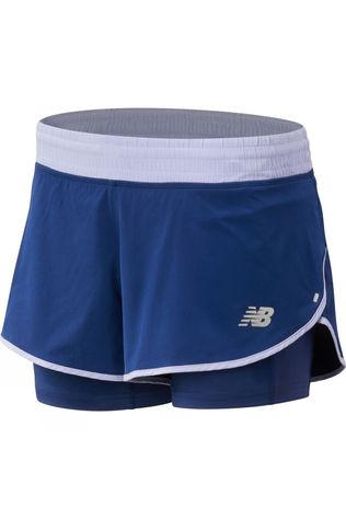 New Balance Womens 4in Impact Short Techtonic Blue