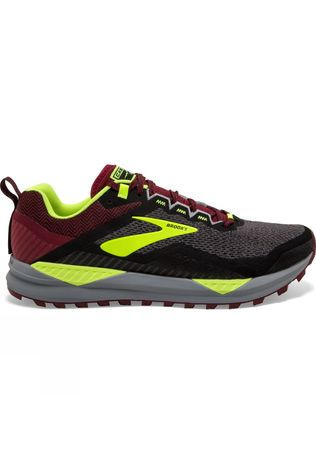 Brooks Men's Cascadia 14 Black/Red/Nighlife