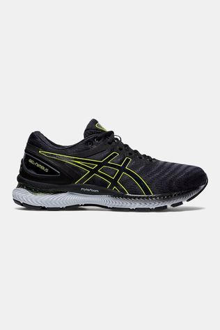 Asics Men's GEL-Nimbus 22 CARRIER GREY/LIME ZEST
