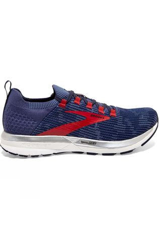 Brooks Men's Ricochet 2 Deep Cobalt/Blue/Red