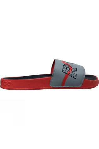 New Balance Mens Run London Edition Slide Red/Navy
