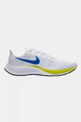 Nike Men's Air Zoom Pegasus 37 White/ Racer Blue-cyber-black
