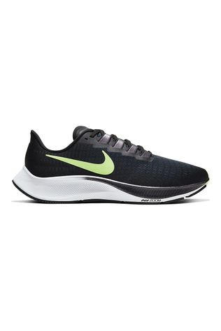 Nike Men's Air Zoom Pegasus 37 Black/Ghost Green-valerian Blue
