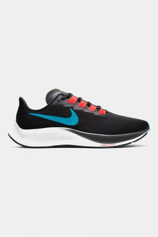 Nike Men's Air Zoom Pegasus 37 Off Noir/ Lt Blue Fury-bright Crimson