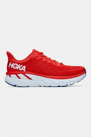 Hoka One One Men's Clifton 7 Fiesta/White