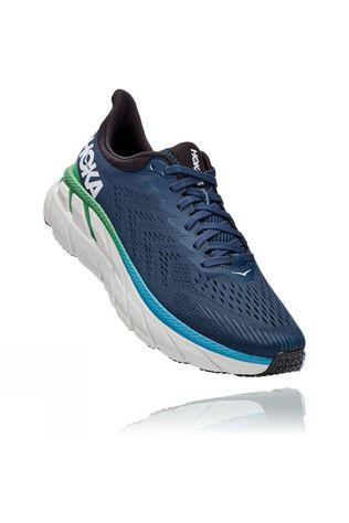 Hoka One One Men's Clifton 7 Wide MOONLIT OCEAN / ANTHRACITE