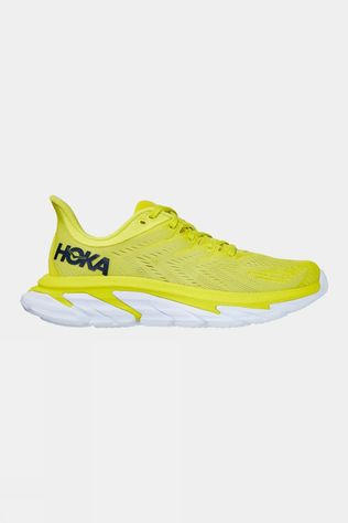 Hoka One One  Men's Clifton Edge Citrus/ White