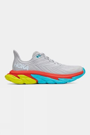 Hoka One One  Men's Clifton Edge Lunar Rock/ White