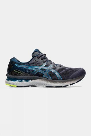 Asics Mens GEL- Nimbus 23 Carrier Grey/Digital Aqua