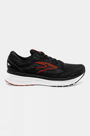 Brooks Mens Glycerin 19 Black/Grey/Red Clay