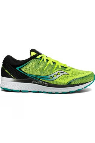 Saucony Mens Guide ISO 2 Yellow/Black