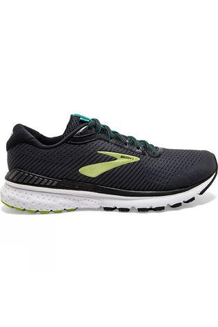 Brooks Men's Adrenaline GTS 20 Black/Lime/Blue Grass