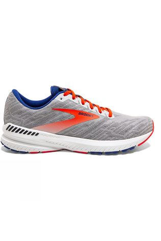 Brooks Men's Ravenna 11 Grey/Cherry/Mazarine