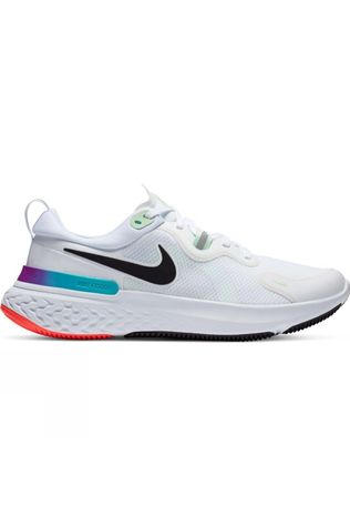 Nike Men's React Miler White/Black-Vapor Green-Hyper Jade
