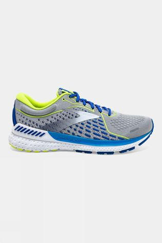 Brooks Men's Adrenaline GTS 21 Grey/White/Indigo