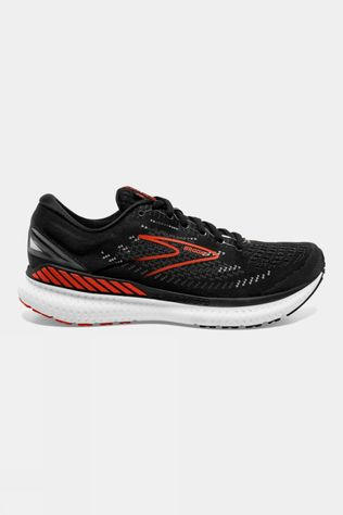 Brooks Mens Glycerin GTS 19 Black/Grey/Red Clay