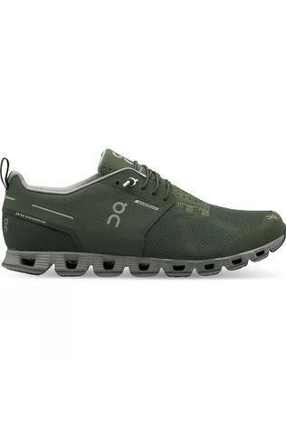 On Men Cloud Waterproof Shoes Forest/Lunar