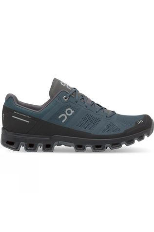 On Men's Cloudventure Running Shoe Shadow/Black