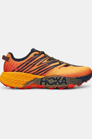 Hoka One One Men's Speedgoat 4 Gold Fusion/Black Iris