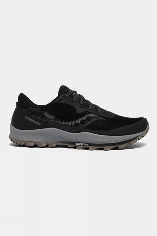Saucony Men's Peregrine 11 GTX Black/Gravel