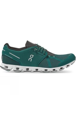 On Mens Cloud Evergreen/ Black