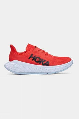 Hoka One One Mens Carbon X 2 Fiesta/White