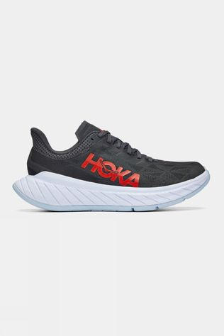 Hoka One One Mens Carbon X 2 Dark Shadow/ Fiesta