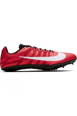 Nike Zoom Rival S 9 Spikes Laser Crimson/White-black-university Red