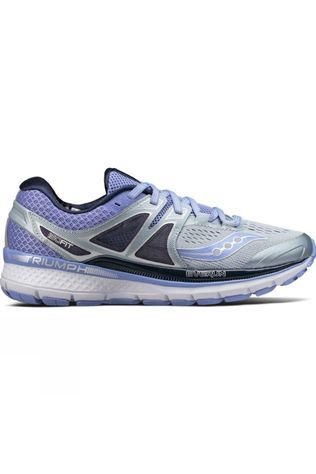 Saucony Womens Triumph ISO 3 Grey/Purple