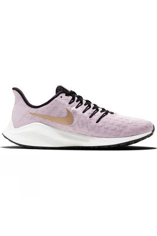 Nike Women's Air Zoom Vomero 14 Plum Chalk/metallic Gold-infinite Gold